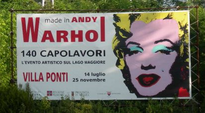 Exhibition dedicated to Andy Warhol